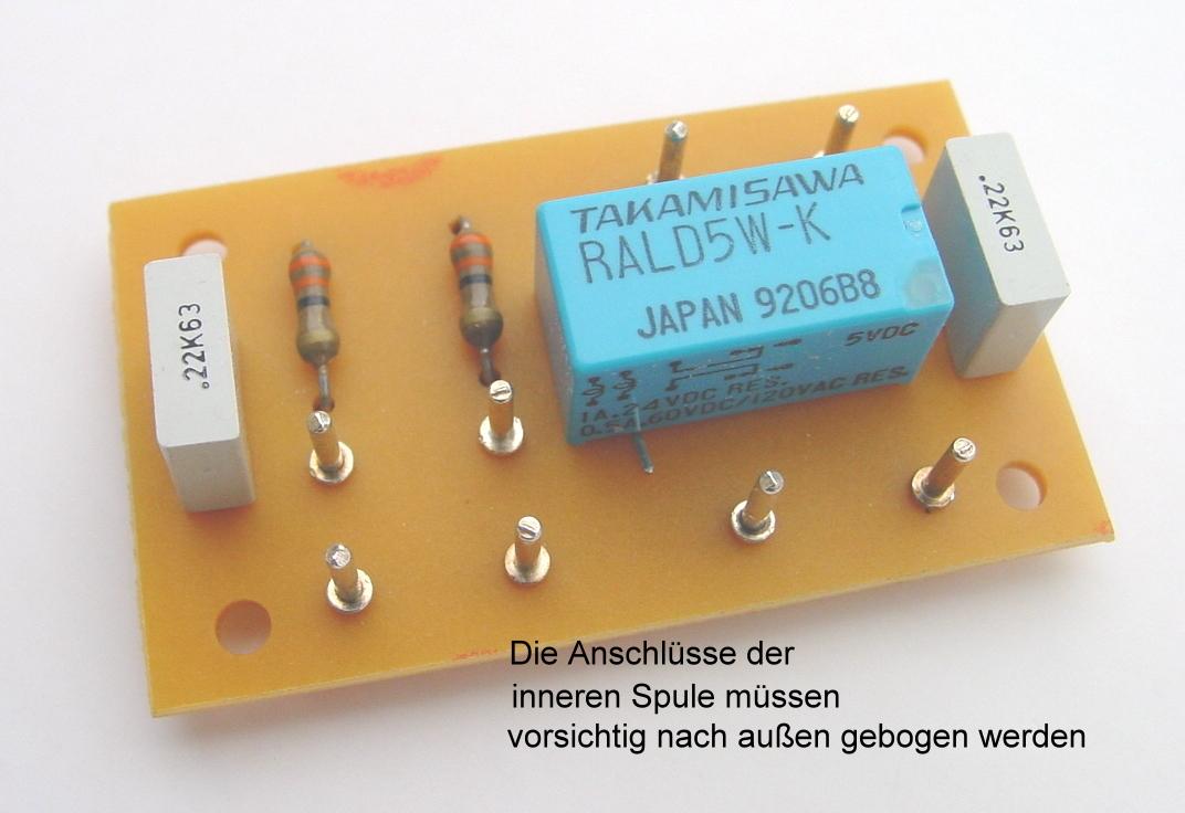 Flip flop relais schaltung
