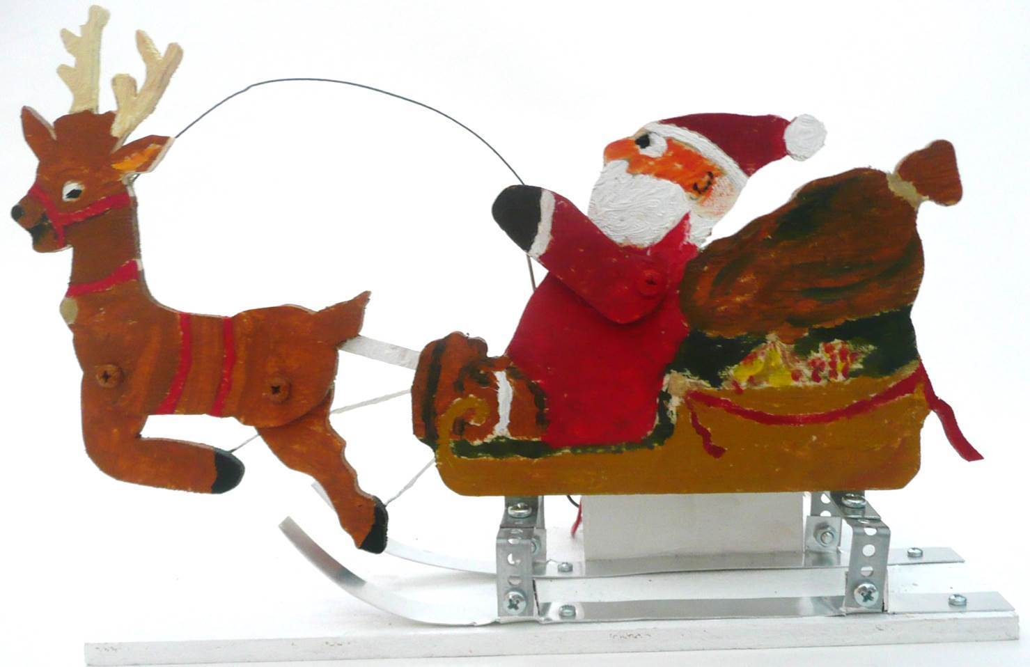 Weihnachtsschlitten - Bausatz 405 - MS Werklehrmittel