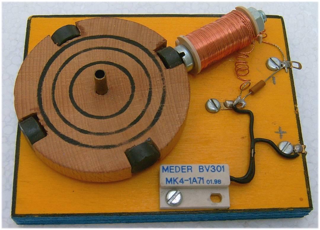 Scheibenmotor - Bausatz 241 - MS Werklehrmittel